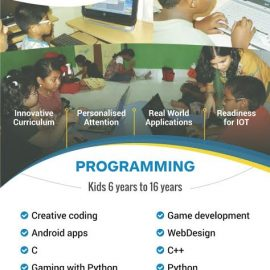 SCIENCE & PROGRAMMING CLASSES (6+ years) from Nov 5, 2016