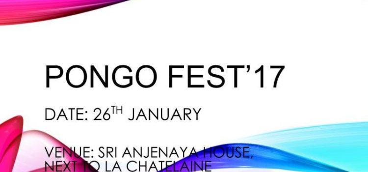 Le Lycee Pongo Fest'2017 Competitions