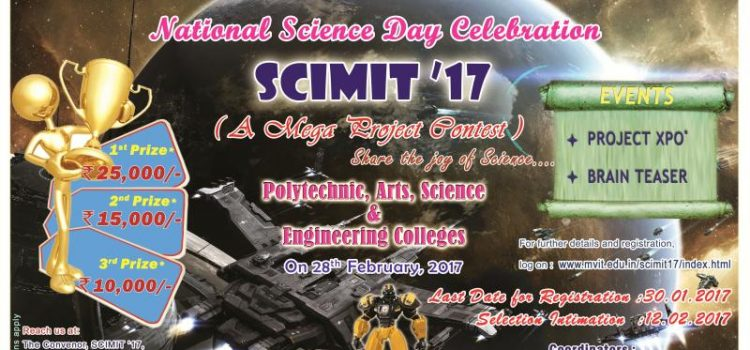 Scimit'17 : A Science Project Contest for College Students