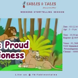 The Proud Lioness – Story Telling Session