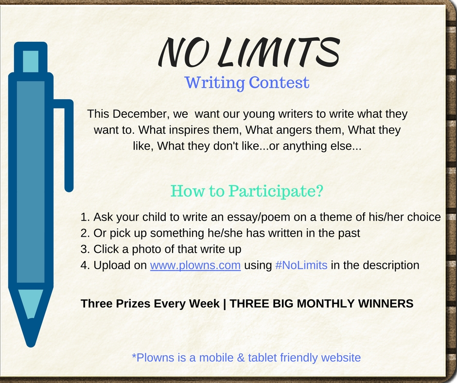 kid writing contests Contest rules the contest is open to young people all over the world deadline for the next contest (2019 #1) is 10th of february 2019 winners will be announced on 4th march 2019, on this website.