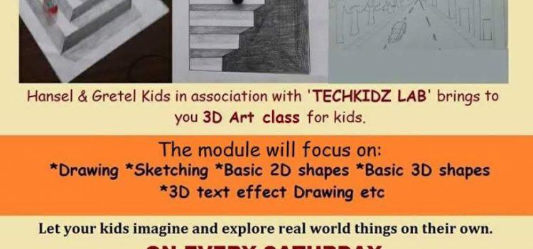 3D Art Classes for children