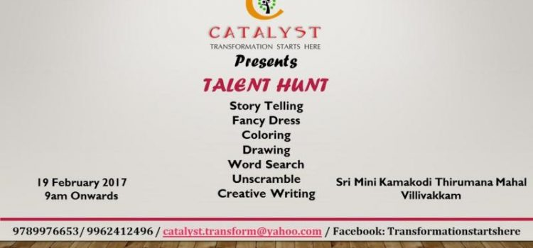 Talent Hunt by Catalyst on Feb 19