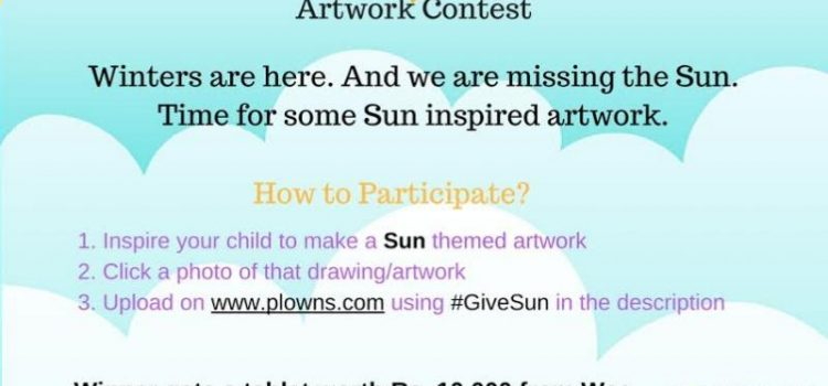 'Give Me the Sun' Artwork Contest by Plowns.com