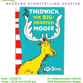 Thidwick The Big Hearted Moose – Weekend Story Telling Session