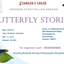 Butterfly Stories | Weekend Story Telling Session