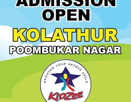 Kidzee Admission Open at Kolathur