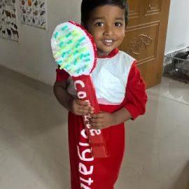 Tiny Talent : 3 Year Old Na.V.Roshen