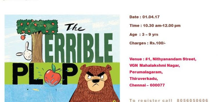 Story Telling Session : The Terrible Plop