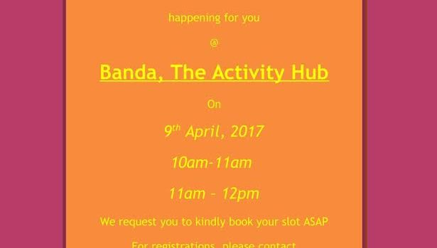 Story Telling Session at Banda, The Activity Club on April 9