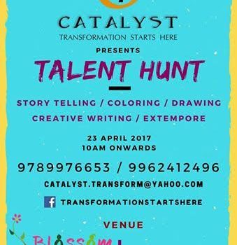 Talent Hunt by Catalyst on April 23, 2017