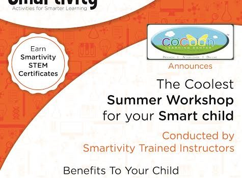 Smartivity STEM Workshop @ The COCOON Learning Center