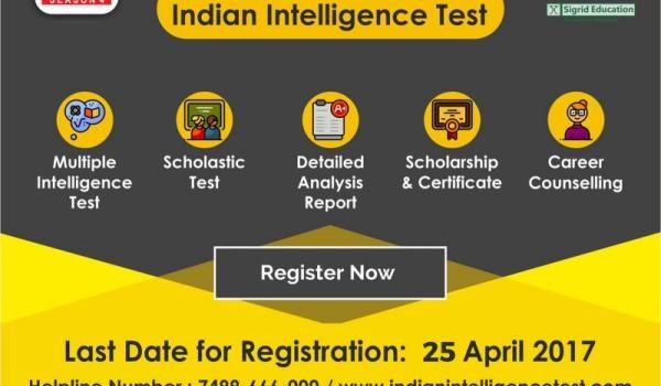 Indian Intelligence Test 2017