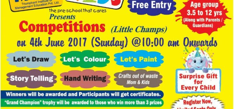 T.I.M.E. Kids, Kilpauk Conducting various Events & Competitions