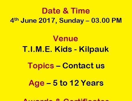 Kids Handwriting Competition by TIME Kids
