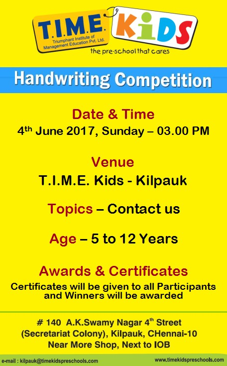 free writing contests for kids