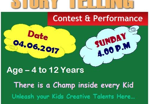 Story Telling Competitions at T.I.M.E Kids
