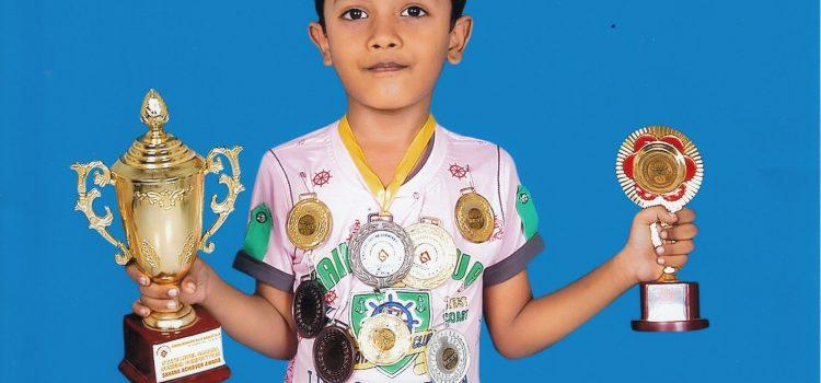 M.S.Kumaresan :Multi Talented Child from Narayana School