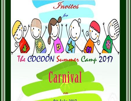 The COCOON Summer Camp 2017 Carnival on July 8, 2017
