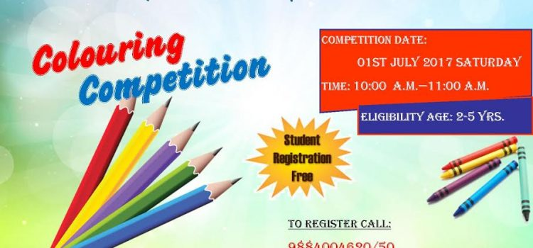 Colouring Competition for Kids @ Perungudi on July 1, 2017