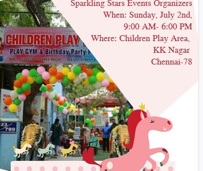 Sparkling Stars Event Organizers Competitions for Children