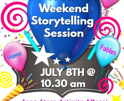 100th Weekend Story Telling Session on 8th July 2007