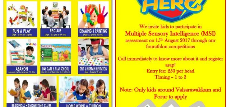 Phonics Hero Contest and Multiple sensory assessment