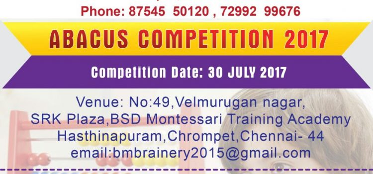 Abacus Competition 2017