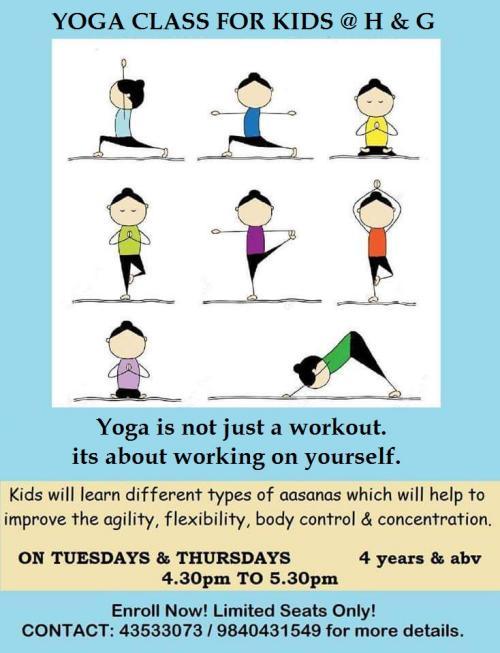 essay on yoga for kids