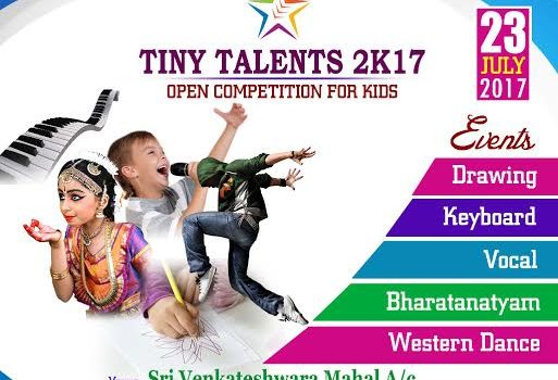 TINY TALENTS 2K17 by Master's Arts Academy