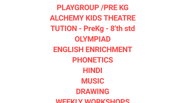 Activities at Tiny Teddies – KK Nagar