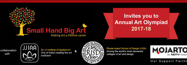 Small Hand Big Art Annual Art Olympiad 2017-18