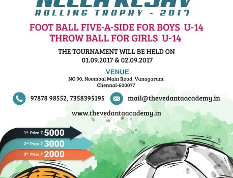 NEELA KESAV ROLLING TROPHY TOURNAMENT for Football & Throw ball