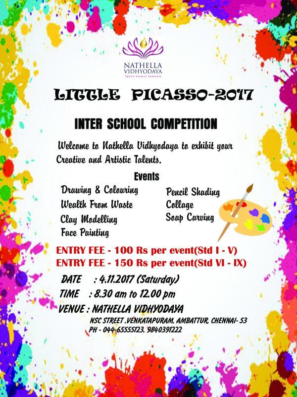 Inter School Quiz Competition Invitation - Free Custom Invitation Template Design | Verrado Drift