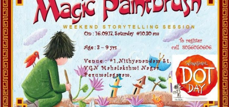 Weekend Story Telling Session | The Magic Paint Brush