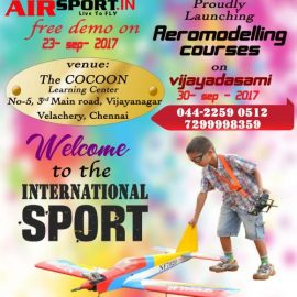 Aeromodelling Courses for KIDs at The COCOON Learning Center