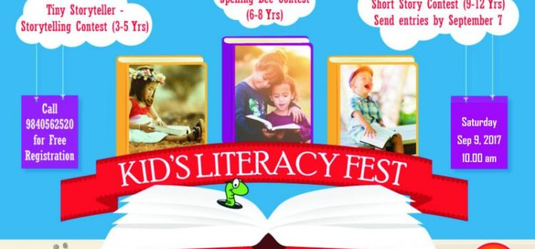 Kids Literacy Fest by Arise N Shine, Velachery