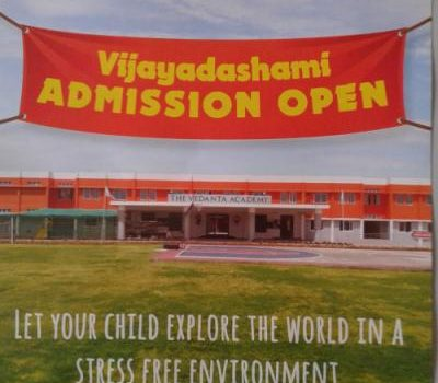 Vedanta Academy Vijayadasami Admission Open
