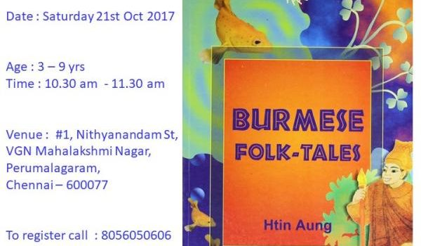 Burmese Folktale on 21.10.17