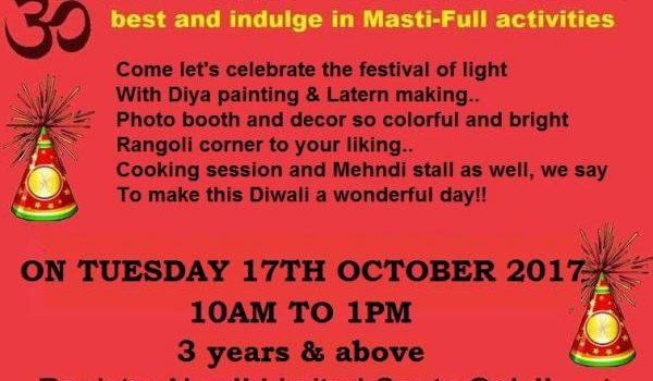 Diwali Carnival for Kids at Hansel n Gretel Kids