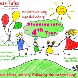 Stepping into 4th Year – Children's Day Special Session
