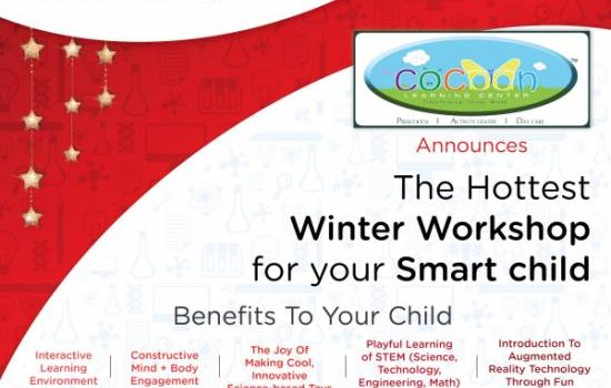The Hottest Winter STEM Workshop for Kids @ The COCOON Learning Center