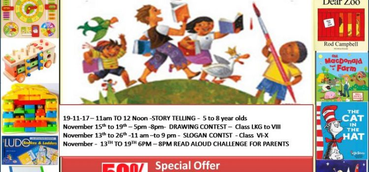 Children's Books Fiesta & Contests at Madurai