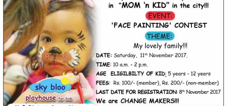 Mom 'n Kid Face Painting Contest