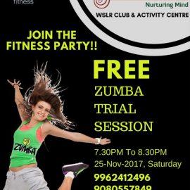 Blossom presents FREE Zumba Session!!