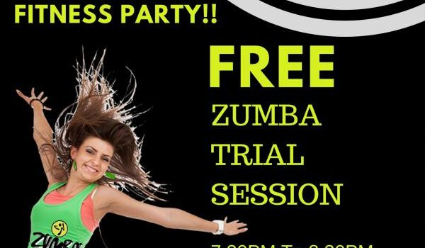Blossom presents FREE Zumba Session!!