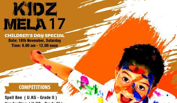 Kidz Mela @ champs – 18th Nov 2017