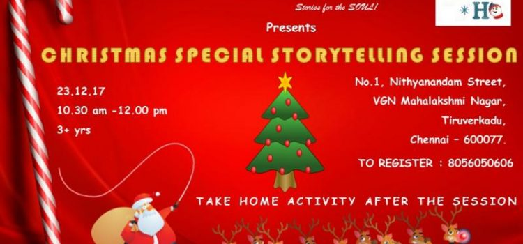 CHRISTMAS SPECIAL STORYTELLING SESSION