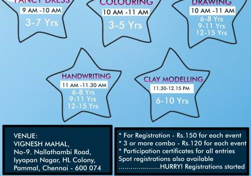 Whiz kids'17 Kids Competition on 31st December 2017, Sunday