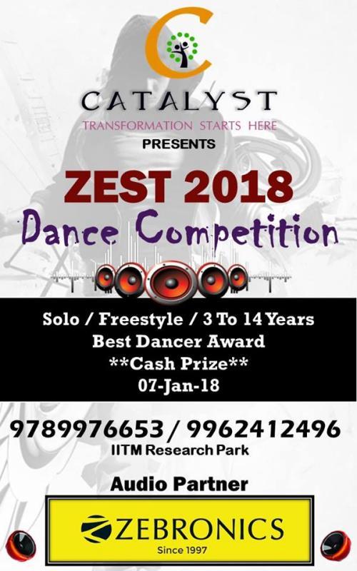 Zest 2018 – Dance Competition – 7-Jan-2018 – Kids Contests